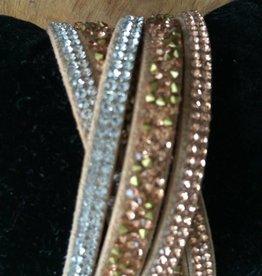 armband met strastenen
