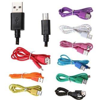 USB-kabel oplader voor tablet en smartphone