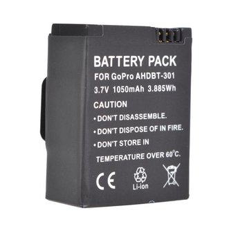 Oplaadbare Battery Voor Go Pro Hero 3/3+