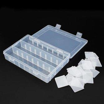 Plastic Opbergbox met 24 Vakken