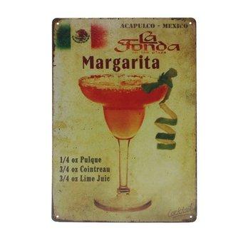 Metalen bord Margarita