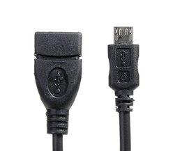 Micro USB kabel voor smartphones