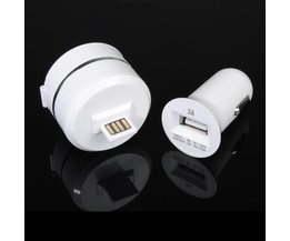 Auto oplader met Micro USB
