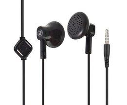 In-ear oordopjes met microfoon
