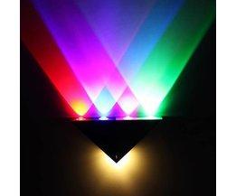 Wandlamp LED 5W Met Meerkleurige Verlichting