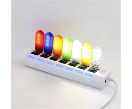 Mini LED Nachtlampje Met USB