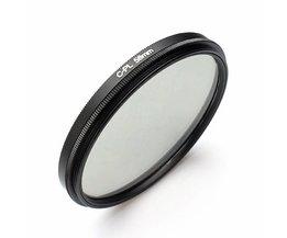 Filter Lens voor Canon Camera