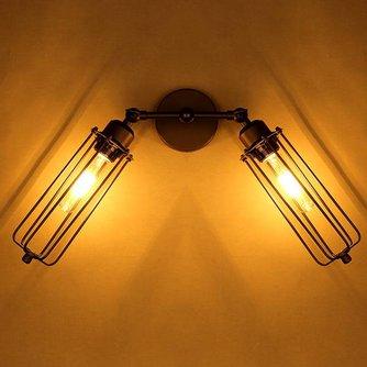 Ijzeren vintage lamp