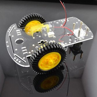 2 Wiel Robot Chassis Kit voor Arduino