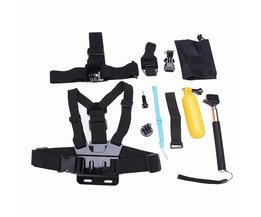 12 in 1 Chest Mount Set voor GoPro Hero 4 3(+) 2