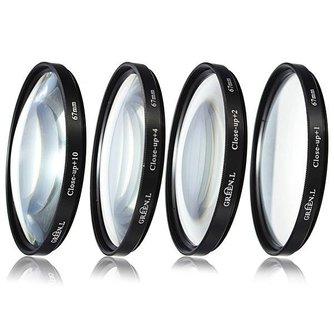 Close up Lens Filter voor Nikon D3000