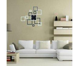 DIY Vierkante Moderne Wandklok