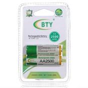 BTY Oplaadbare Batterijen AA (2 stuks)