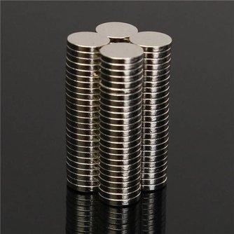 Magneten Neodymium 100 Stuks
