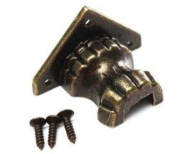 Hoekberscherming 4 Stuks Metaal