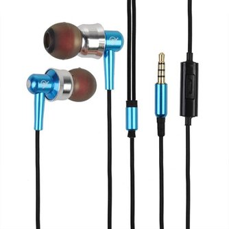 In-Ear Handsfree Earphone voor Telefoon en MP3-speler
