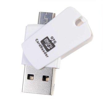 USB en OTG Kabel 2 in 1
