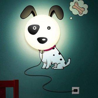 LED Wandverlichting Hond