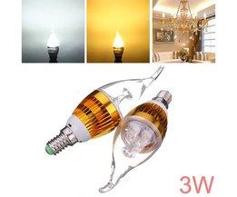 LED Kaarslamp E14 (3W)