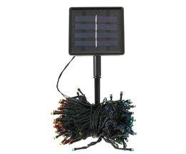 Multikleurige Led Feestverlichting op Zonne Energie