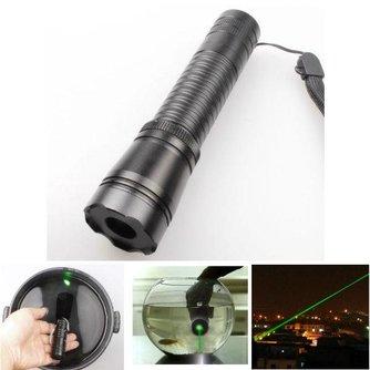 Verstelbare Waterdichte Groene Laser Pointer