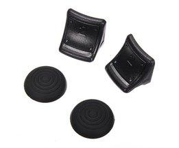 Siliconen Grips en Trigger Extenders voor PS 3 Controller