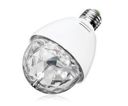 Roterende Disco RGB LED Lamp