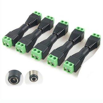 Plug jack connector voor CCVT camera (5 paar)
