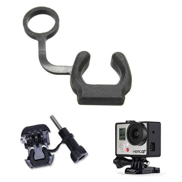 Rubberen Vergrendeling voor Action Camera (bijvoorbeeld GoPro, SJ4000)