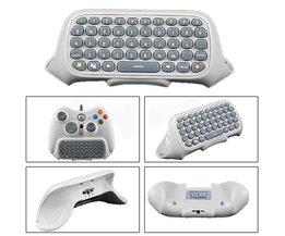 Draadloze Keyboard Controller voor Xbox 360