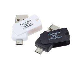 2-in-1 USB 2.0 Kaartlezer