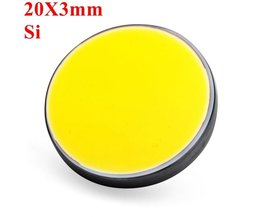 Silicium Laserspiegel 20 x 3mm  voor CO2 Laser Cutter
