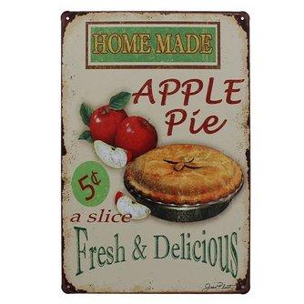 \'Apple Pie\' Vintage Keuken Muur Decor