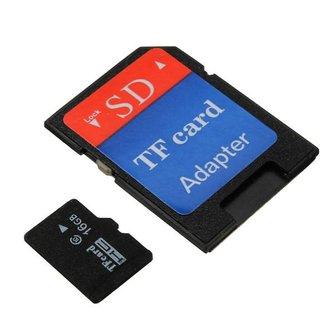 16GB Micro SD Kaart met Adapter
