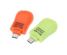 Micro SD Kaartlezer in Gebruiksvriendelijke Vormgeving