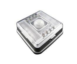 LED lamp met infraroodsensor
