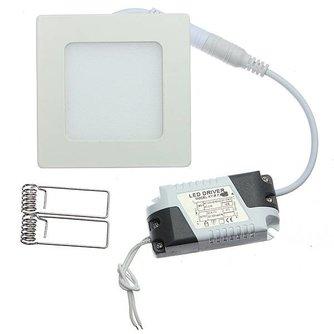 Dimbare Vierkante LED Plafondlamp