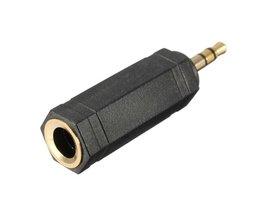 "Koptelefoon Adapter Jack Plug 1/4\"" naar 3.5 mm"