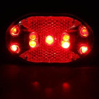 Achterlicht Fiets LED met 7 Standen