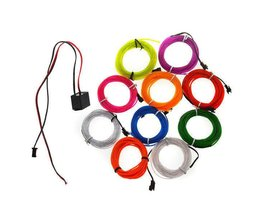Neon Draad 10 Kleuren