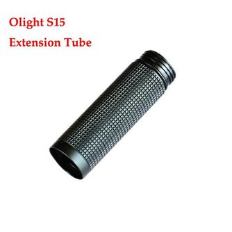 Verlengstuk voor Olight S15 Zaklantaarn