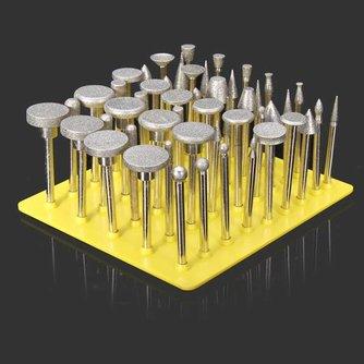Set met 50 diamanten slijpers