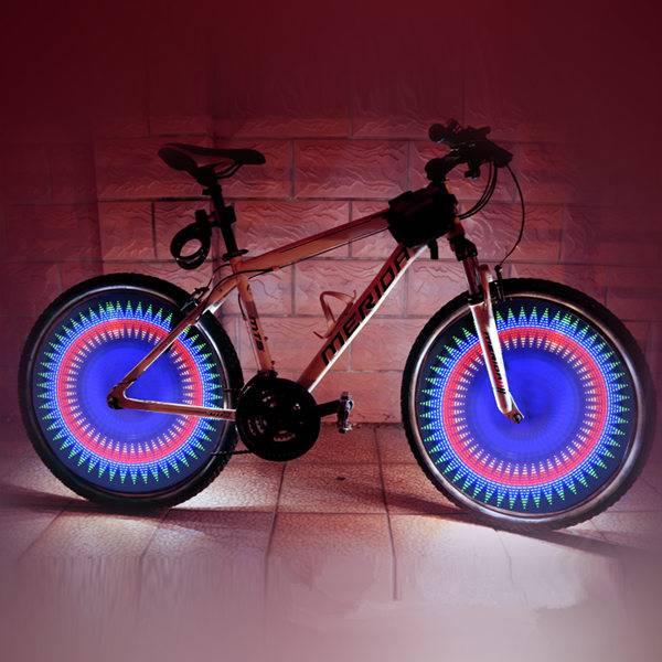 fietswiel licht led