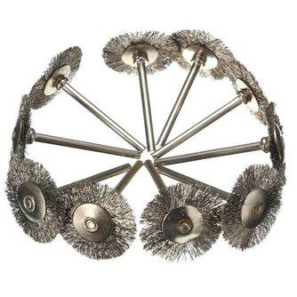 Ronde staalborstel voor roterend gereedschap