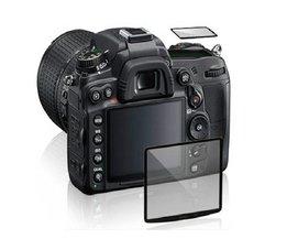 Screenprotector van Glas voor Nikon D800