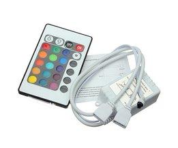 IR Afstandsbediening voor 12 volt RGB Led Strip