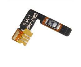 Aan/Uit Knop Flex Kabel voor CUBOT X6