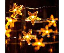LED Kerstverlichting met Sterren 3 Meter