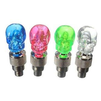 Fietsventiel met LED licht