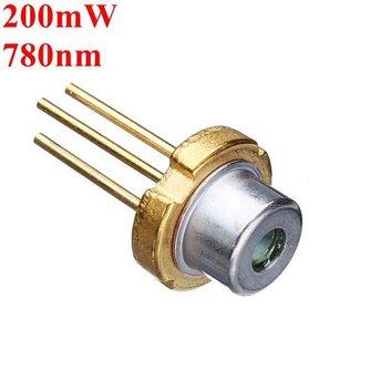 200 mW Infrarood Laserdiode